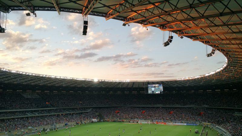 Soccer Stadium World Cup Chinese Sponsors